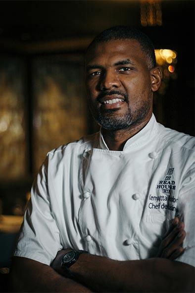 Bridgeman's Chophouse Chef de Cuisine Kenyatta Ashford