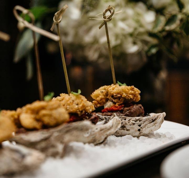 Oysters Rockefeller at Bridgeman's Chophouse