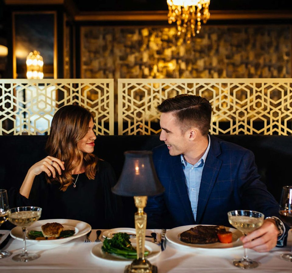 Bridgeman's Chophouse private dining experience
